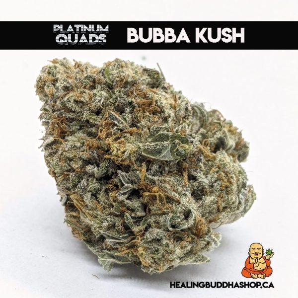 bubba kush platinum quads on healingbuddhashop.ca