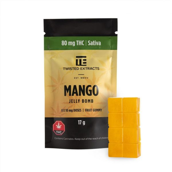 Twisted Extracts Mango Jelly Bomb - healingbuddhashop.co