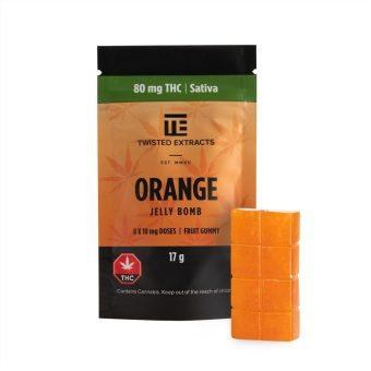 wisted Extracts Orange Jelly Bomb - healingbuddhashop.co